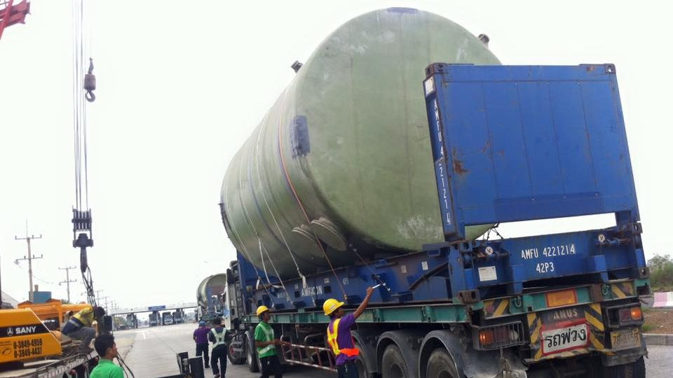 Transportation chemical tank
